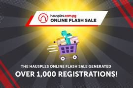 The Hausples Online Flash Sale generated over 1,000 registrations!